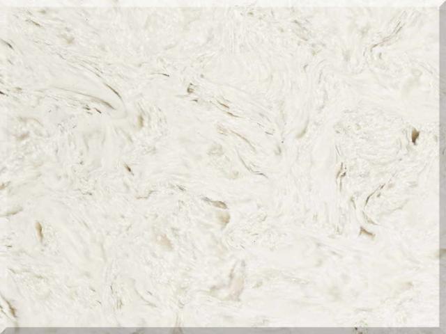 Цветовая палитра кварцевый камень Vicostone Marble Effect Akoya BQ 8583 BQ8583 Akoya