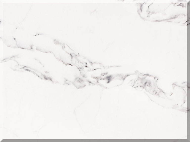 Цветовая палитра кварцевый камень Vicostone Marble Effect Borghini BQ8670