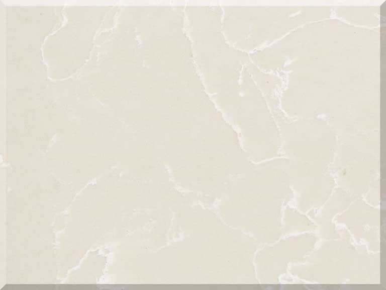 Цветовая палитра кварцевый камень Vicostone Marble Effect Botticino Classic BQ 8430 BQ8430 Botticino Classic