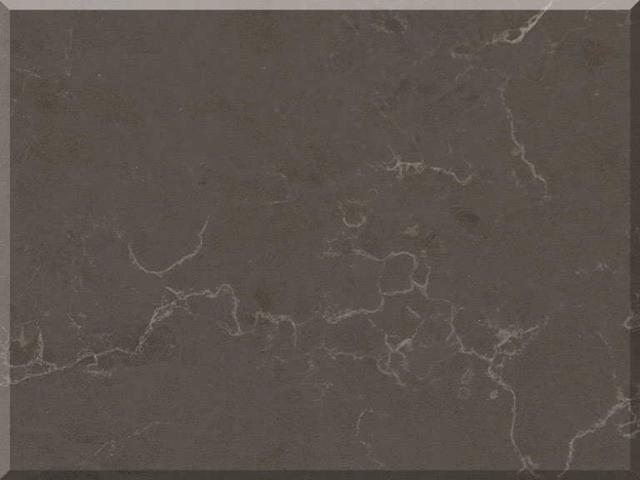Цветовая палитра кварцевый камень Vicostone Marble Effect BQ8808 Cinza