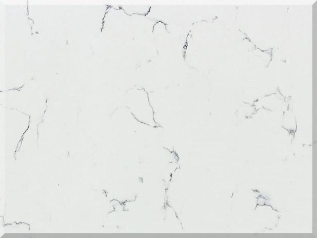 Цветовая палитра кварцевый камень Vicostone Marble Effect Ventisca BQ8330
