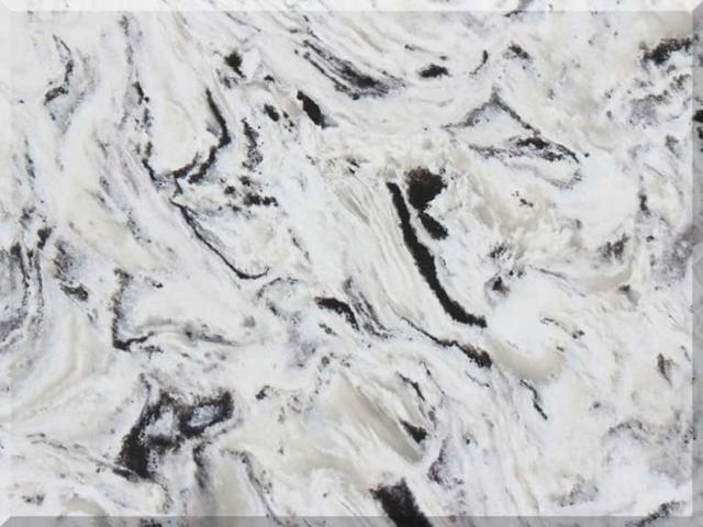 Цветовая палитра кварцевый камень Vicostone Cold Spring BQ9441